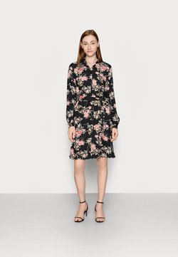 PIECES Tall - PCPAOLA DRESS - Blusenkleid - black