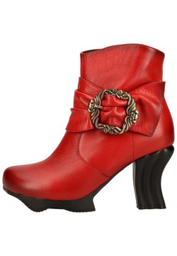 LAURA VITA - High Heel Stiefelette - rouge