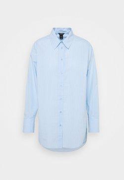 Lindex - SHIRT LANA CRISP BLUE - Bluse - light blue