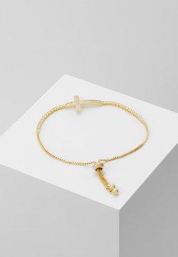 sweet deluxe - SLIDING KREUZ - Bracelet - gold-coloured