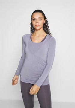 Curare Yogawear - Camiseta de manga larga - pearl grey