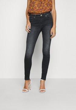 ONLY - ONLSHAPE LIFE - Jeans Skinny Fit - black denim