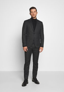 Tommy Hilfiger Tailored - MACRO STRUCTURED SLIM FIT SUIT - Anzug - black