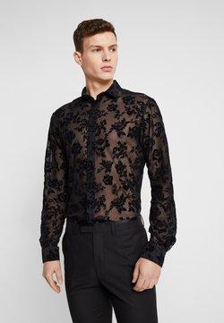 Twisted Tailor - KASH FLORAL SHIRT - Shirt - black