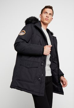 Superdry - EVEREST  - Wintermantel - jet black