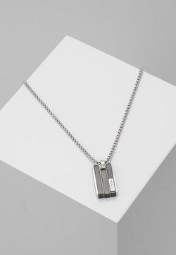 Fossil - Necklace - schwarz/silber-farben