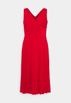Lauren Ralph Lauren - MID WEIGHT DRESS COMBO - Day dress - orient red