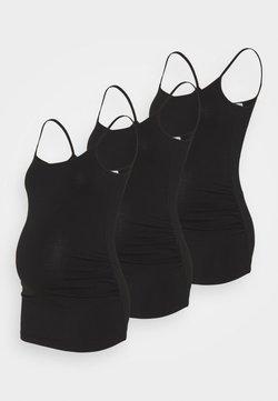 Anna Field MAMA - 3 PACK - Top - black/black/black