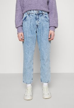 Monki - MAJA - Jeans baggy - blue dusty light