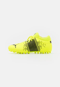 Puma - FUTURE Z 4.1 MG - Moulded stud football boots - yellow alert/black/white