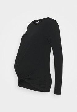 MAMALICIOUS - MLELLI  - Camiseta de manga larga - black