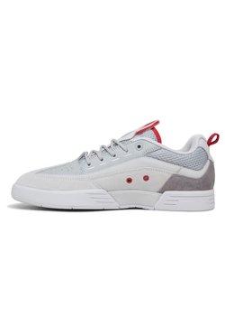 DC Shoes - LEGACY 98 SLIM - Sneaker low - grey/dark red