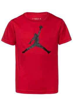 Jordan - JUMPMAN LOGO - T-shirt z nadrukiem - gym red