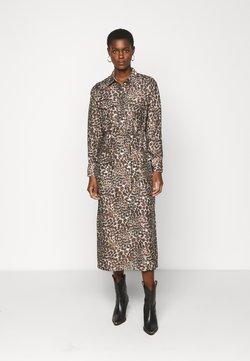 Object Tall - OBJNILLA DRESS TALL - Korte jurk - sandshell