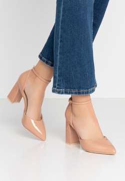 Glamorous Wide Fit - High Heel Pumps - nude
