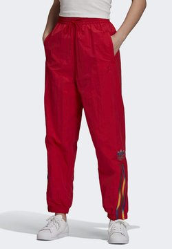 adidas Originals - PAOLINA RUSSO ADICOLOR SPORTS INSPIRED MID RISE PANTS - Jogginghose - scarlet