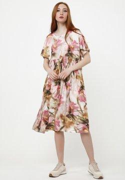 Madam-T - OFELIA - Freizeitkleid - beige, rosa