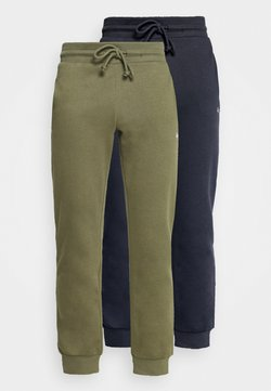 Jack & Jones - JJISIMONE 2-PACK - Jogginghose - navy blazer/khaki