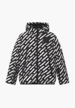 SuperRebel - SUSTAINABLE BASIC SHINY BOYS  - Laskettelutakki - text black/white