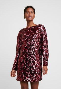 Guess - KALILA DRESS - Cocktail dress / Party dress - burgundy