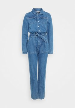 Missguided Tall - BOILER BUTTON THROUGH - Haalari - blue