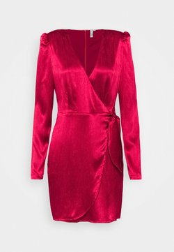 Nly by Nelly - TIE WRAP DRESS - Robe de soirée - red