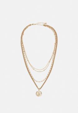 Pieces - PCKERIME COMBI NECKLACE - Necklace - gold-coloured