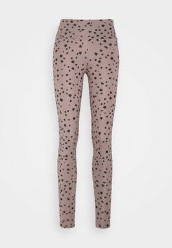 Hey Honey - DOTS  - Tights - taupe