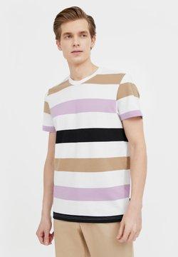Finn Flare - T-Shirt print - white