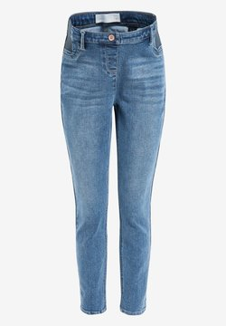 Next - DENIM GREY MATERNITY SUPER SOFT - Jeansy Skinny Fit - blue