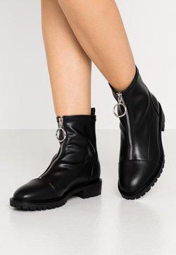 Even&Odd Wide Fit - WIDE FIT - Korte laarzen - black