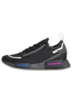 adidas Originals - NMD_R1 SPEEDLINES BOOST SHOES - Sneakersy niskie - cblack/gresix/globlu