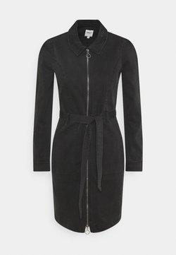 ONLY - ONLNEW CHIGO DRESS - Jeanskleid - black denim