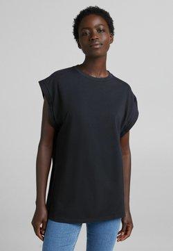 Bershka - T-shirt basic - black