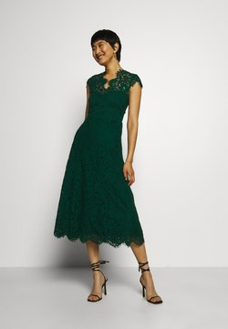 IVY & OAK - DRESS MIDI - Cocktailkjoler / festkjoler - eden green