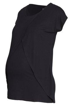 Anna Field MAMA - BASIC NURSING TOP - Camiseta estampada - black