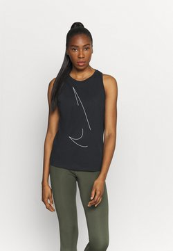 Nike Performance - DRY TANK  YOGA - Funktionsshirt - black