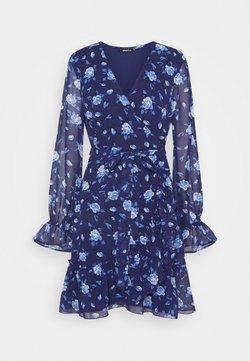 Gina Tricot - JULIANNA WRAP DRESS - Kjole - navy