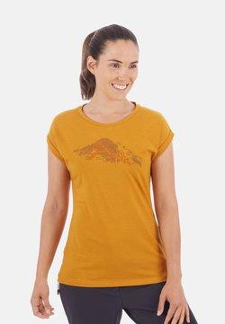 Mammut - MOUNTAIN - T-Shirt print - golden