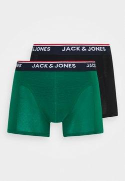 Jack & Jones - JACTENCEL TRUNKS 2 PACK - Shorty - black/evergreen