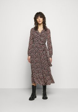 MICHAEL Michael Kors - DAINTY BLOOM WRAP - Freizeitkleid - dark ruby