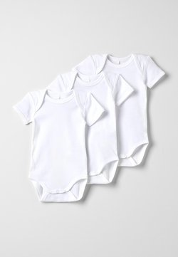 Name it - NBNBODY SOLID BABY BASIC 3 PACK - Body - white