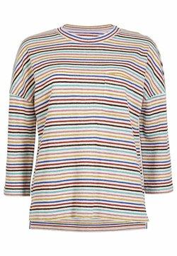 Boden - OTTILIE  - Langarmshirt - bunt/metallic regenbogenfarbene streifen