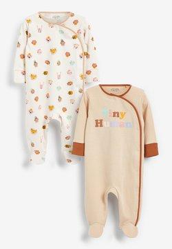 Next - 2 pack - Pyjama - tan