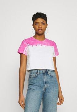 Even&Odd - T-Shirt print - pink/white
