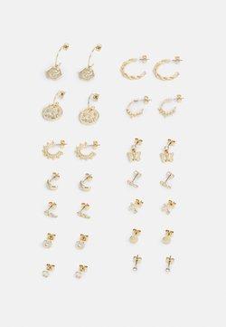 Monki - MILLA EARRINGS 14 PACK - Oorbellen - gold-coloured