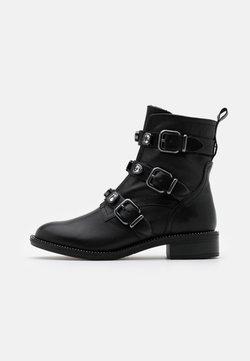Tamaris - BOOTS - Cowboy-/Bikerstiefelette - black