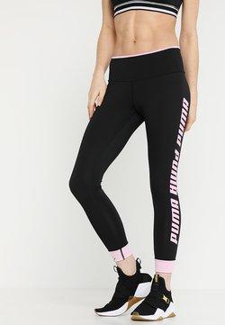 Puma - MODERN SPORTS FOLDUP LEGGING - Tights - black/pale pink