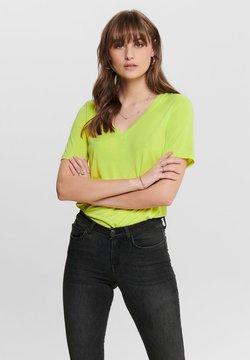 ONLY - T-Shirt basic - neon green
