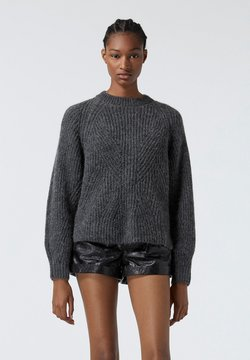 The Kooples - Strickpullover - grey antracite